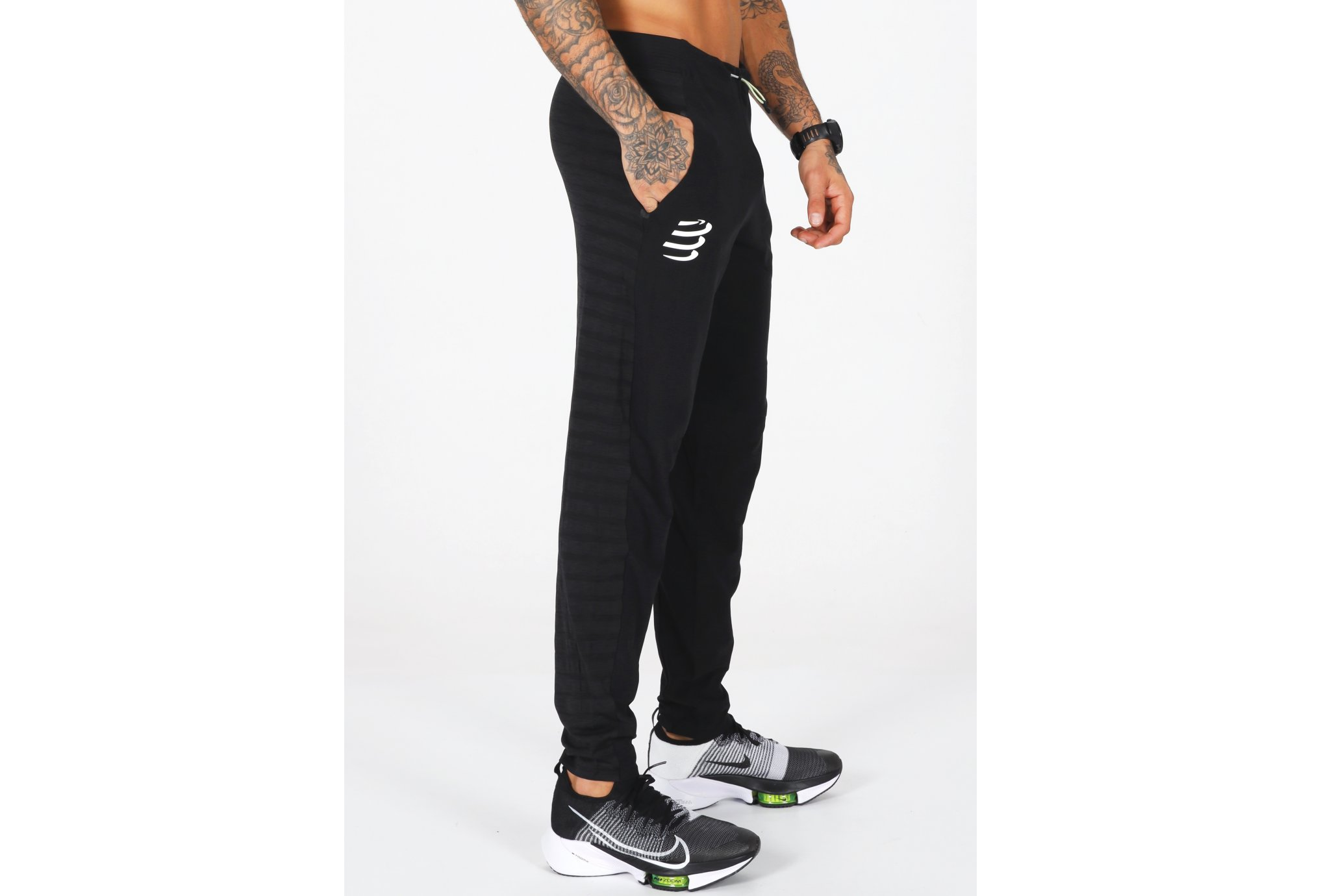 Compressport Seamless Pants M vêtement running homme
