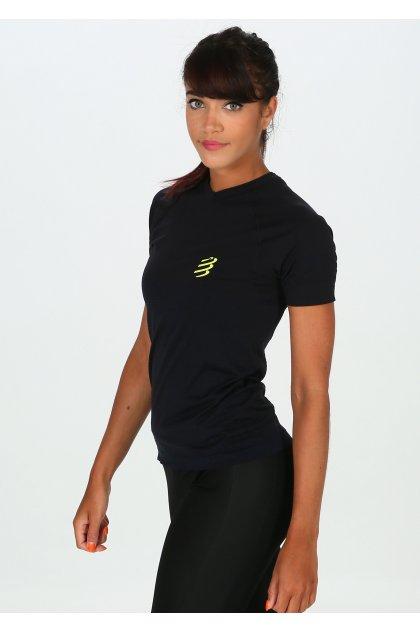 Compressport Camiseta manga corta Training Black Edition