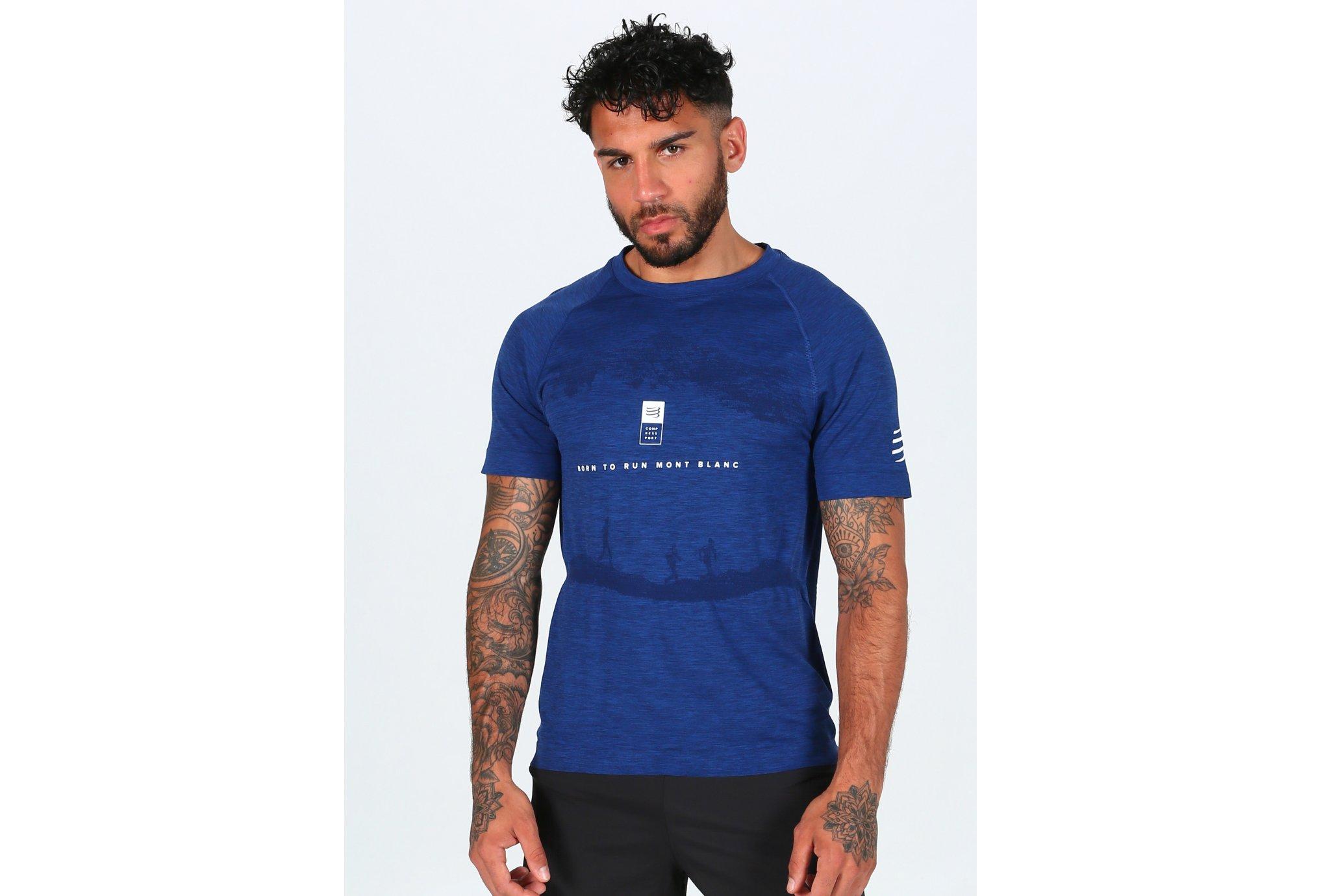 Compressport Training Mont Blanc 2019 M vêtement running homme