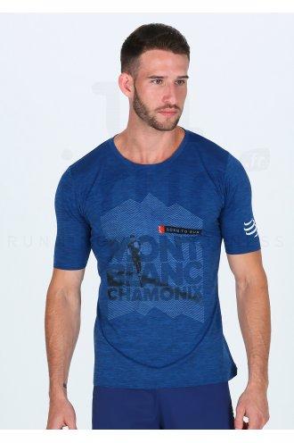 Compressport Training Tshirt Mont Blanc 2018 M