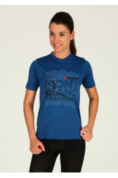Compressport Training Tshirt Mont Blanc 2018 W