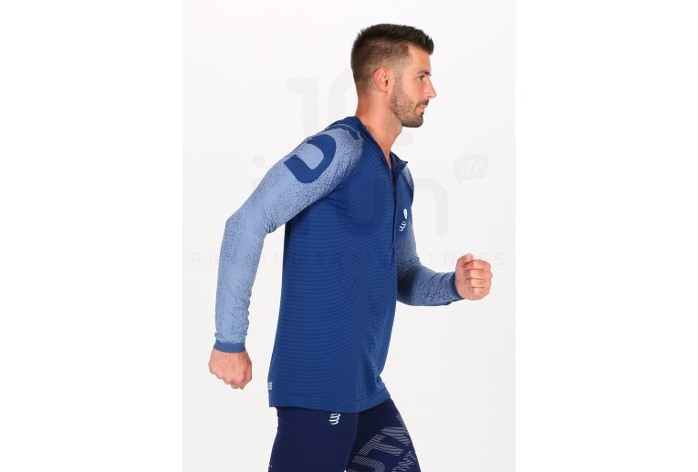 Compressport Ultra Trail 180g Racing Hoodie UTMB 2020 M