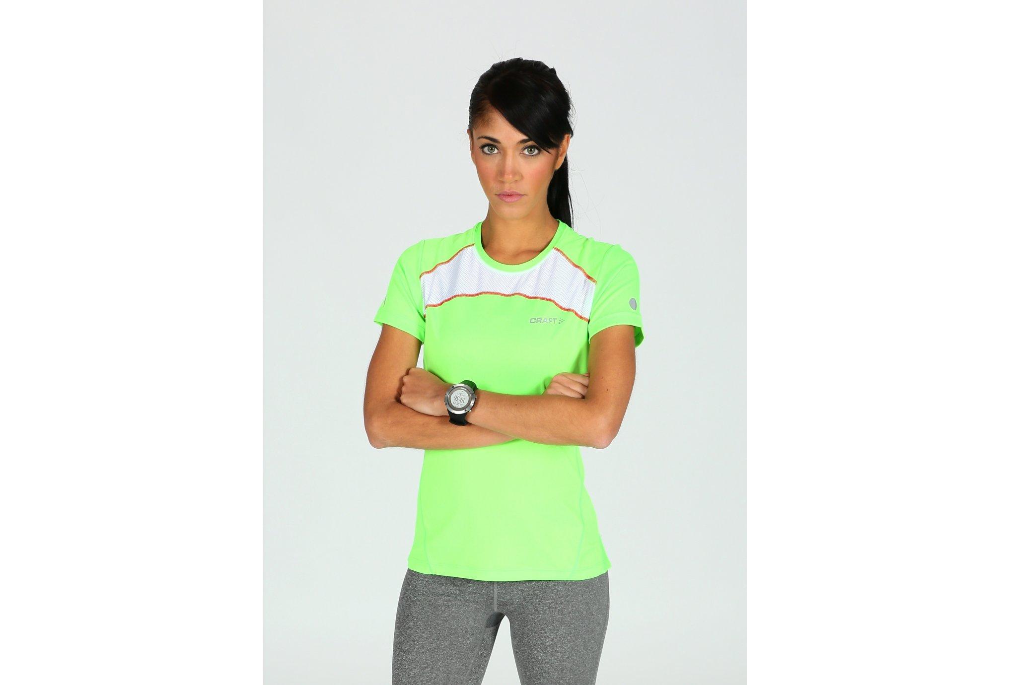 Craft Tee-shirt Run Devotion W Diététique Vêtements femme