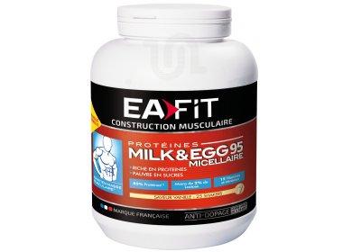 EAFIT Milk & EGG 95 micellaire 750g vanille