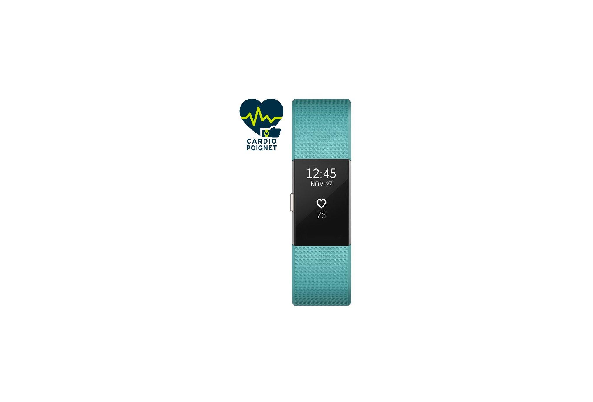 Fitbit Pulsera de actividad Charge 2-L Bracelets d'activité