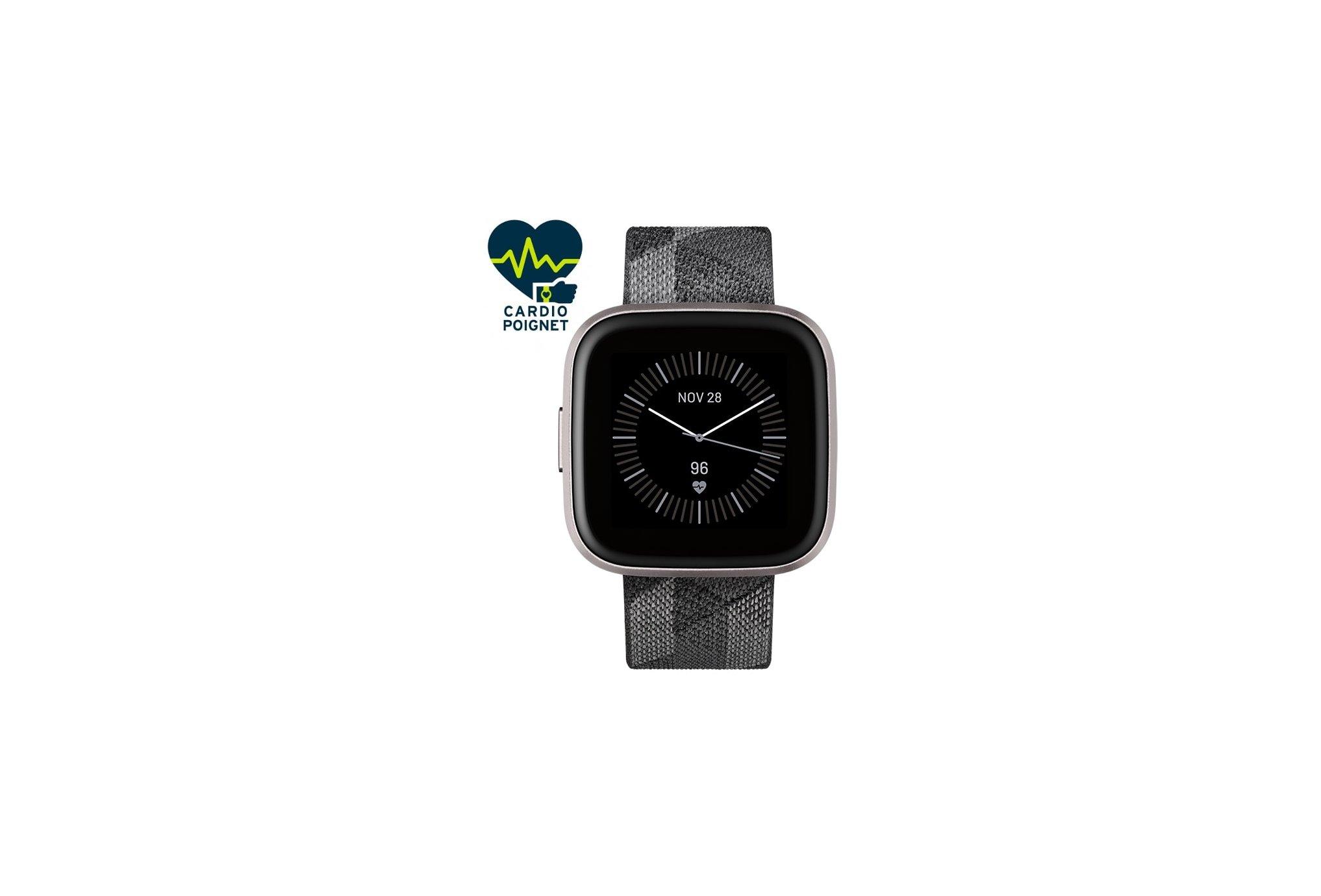 Fitbit Versa 2 Édition Spéciale Cardio-Gps