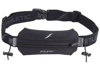 Fitletic Cinturón portadorsales con bolsillo de neopreno