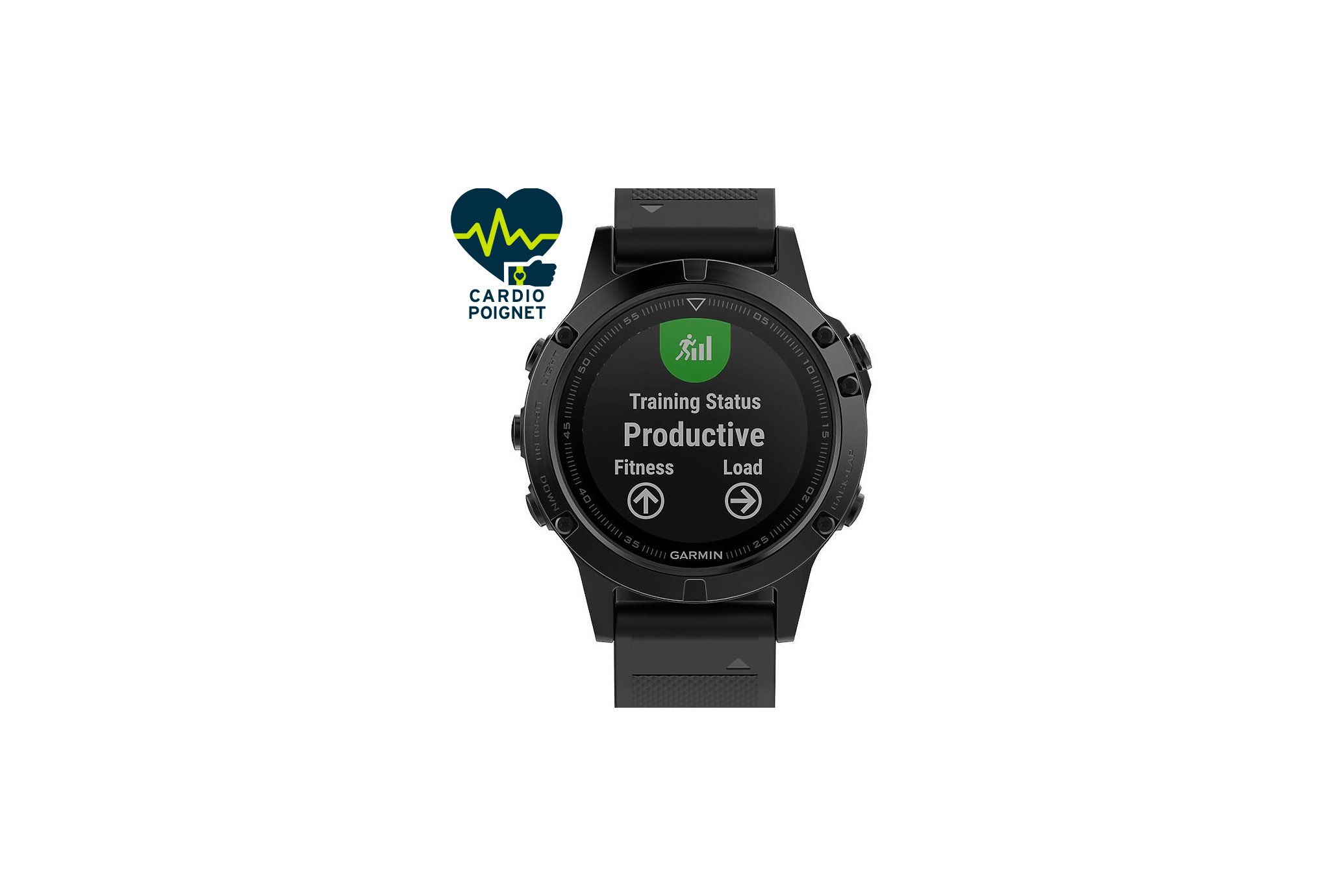 Garmin Reloj Fénix 5 Sapphire GPS Pack Performer HRM-Tri Cardio-Gps