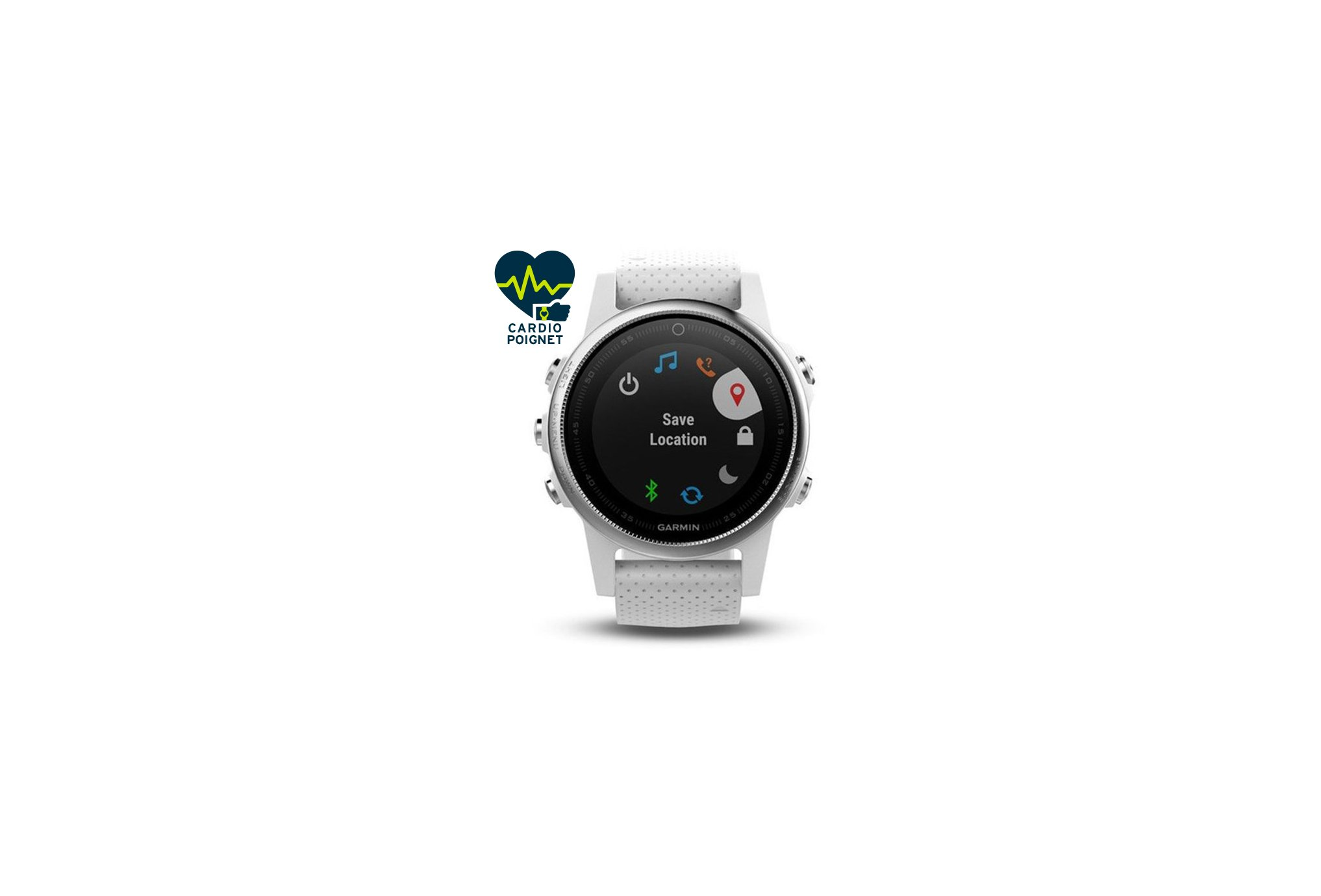 Garmin Reloj Fénix 5S GPS Multisports Cardio-Gps