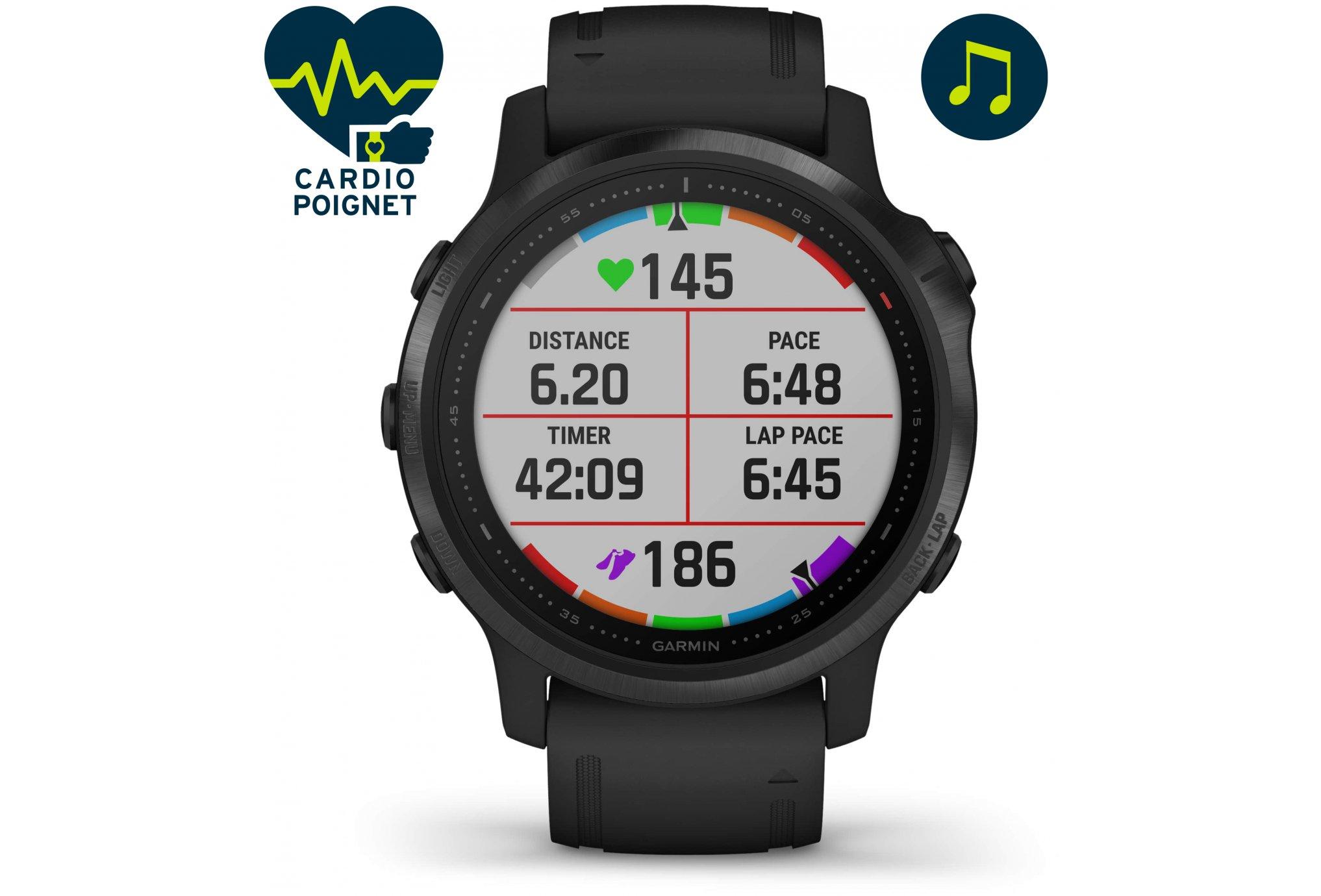 Garmin Fenix 6S Pro Cardio-Gps