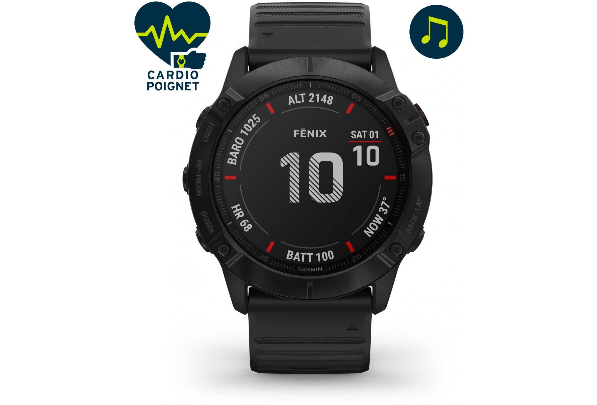 Garmin Fenix 6X Pro Cardio-Gps