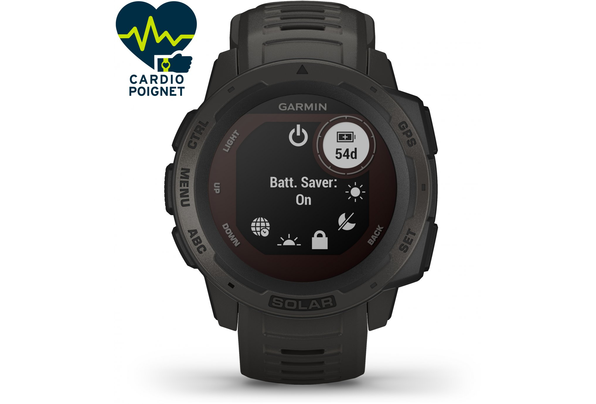 Garmin Instinct Solar Tactical Edition Cardio-Gps