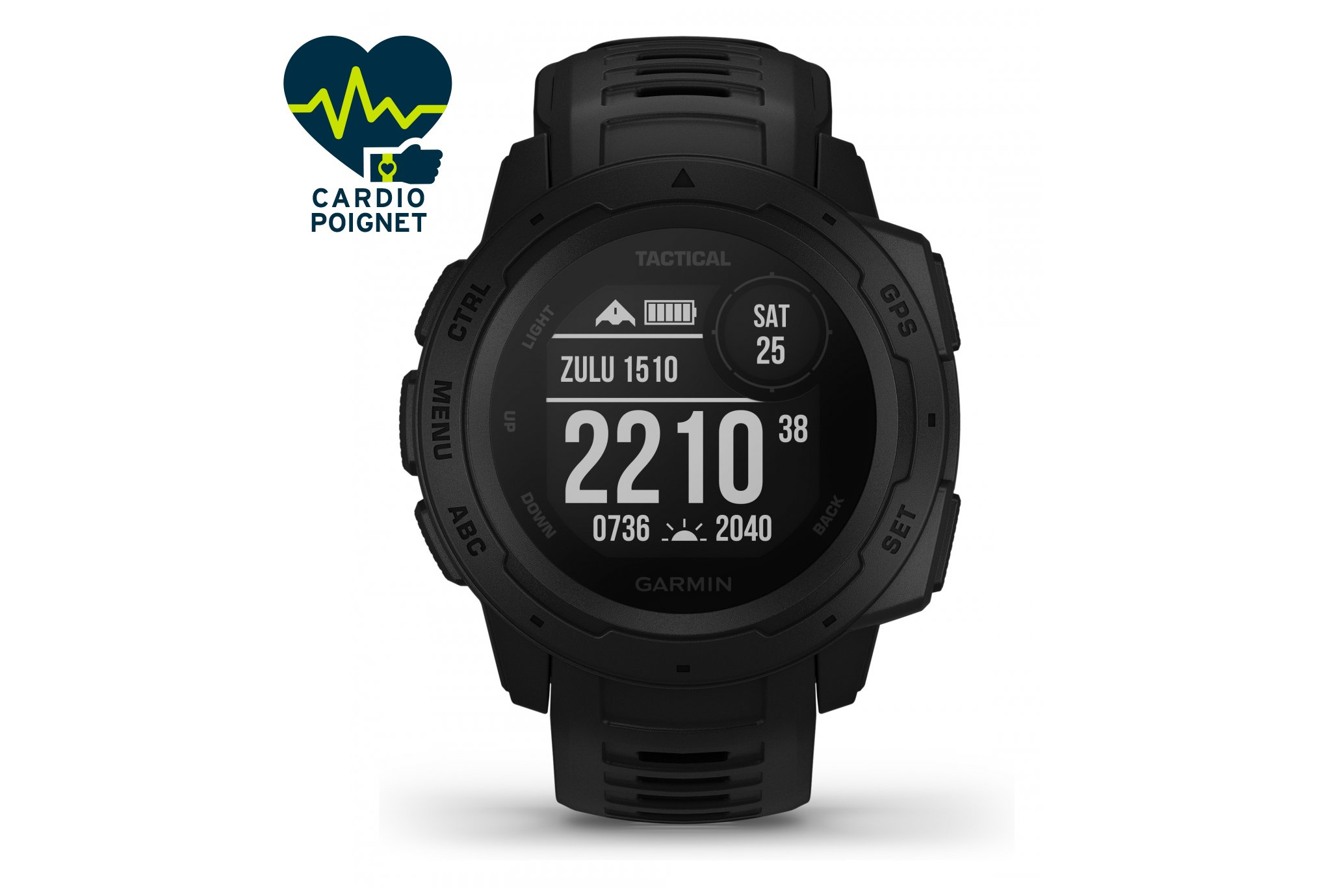 Garmin Instinct Tactical Edition Cardio-Gps