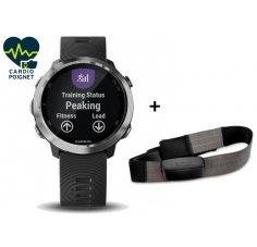Garmin Pack Forerunner 645 + Ceinture cardio-fréquencemètre textile