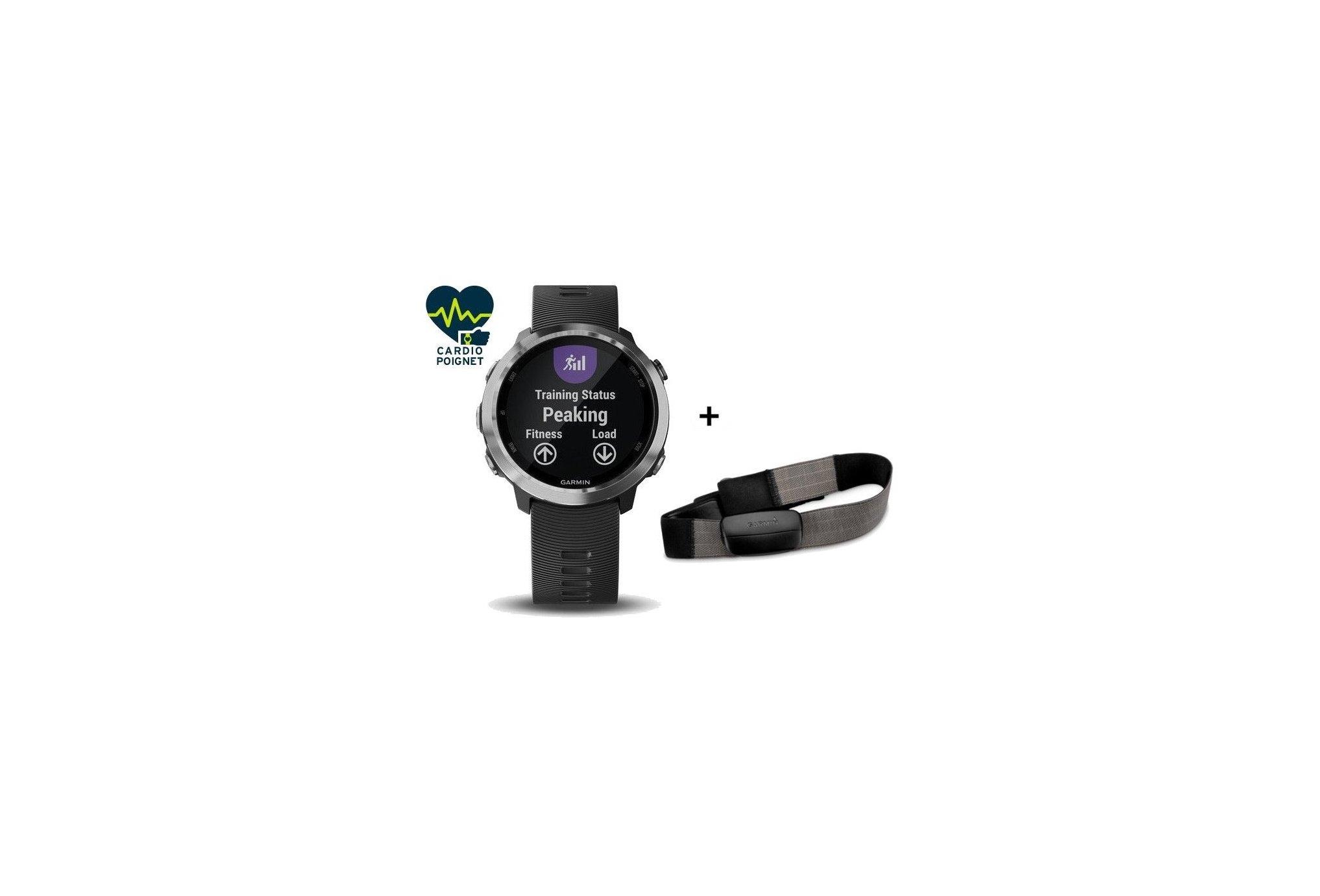 Garmin Pack Forerunner 645 + banda de frecuencia cardíaca textil Cardio-Gps