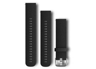 Garmin Pack Forerunner 645 Music+ correa 20 mm negro / plata