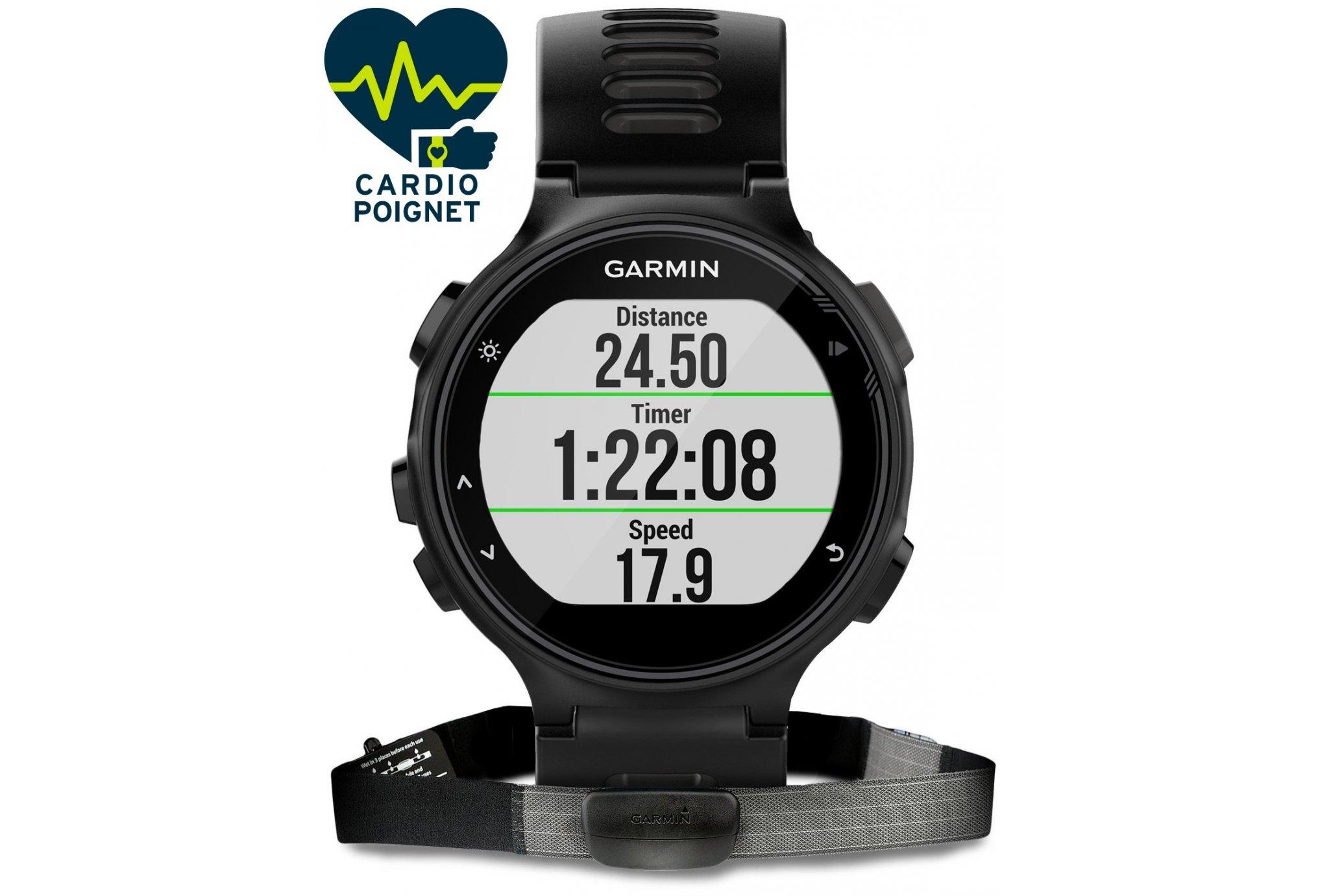 Garmin Forerunner 735XT + banda HRM3 Cardio-Gps