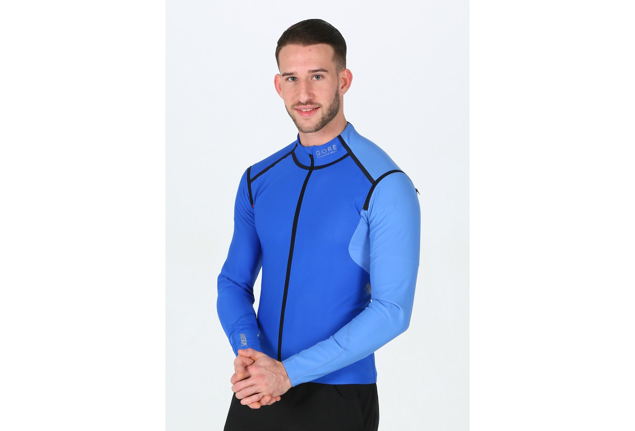 Gore Wear Fusion WindStopper Soft Shell Zip-Off M Diététique Vêtements homme