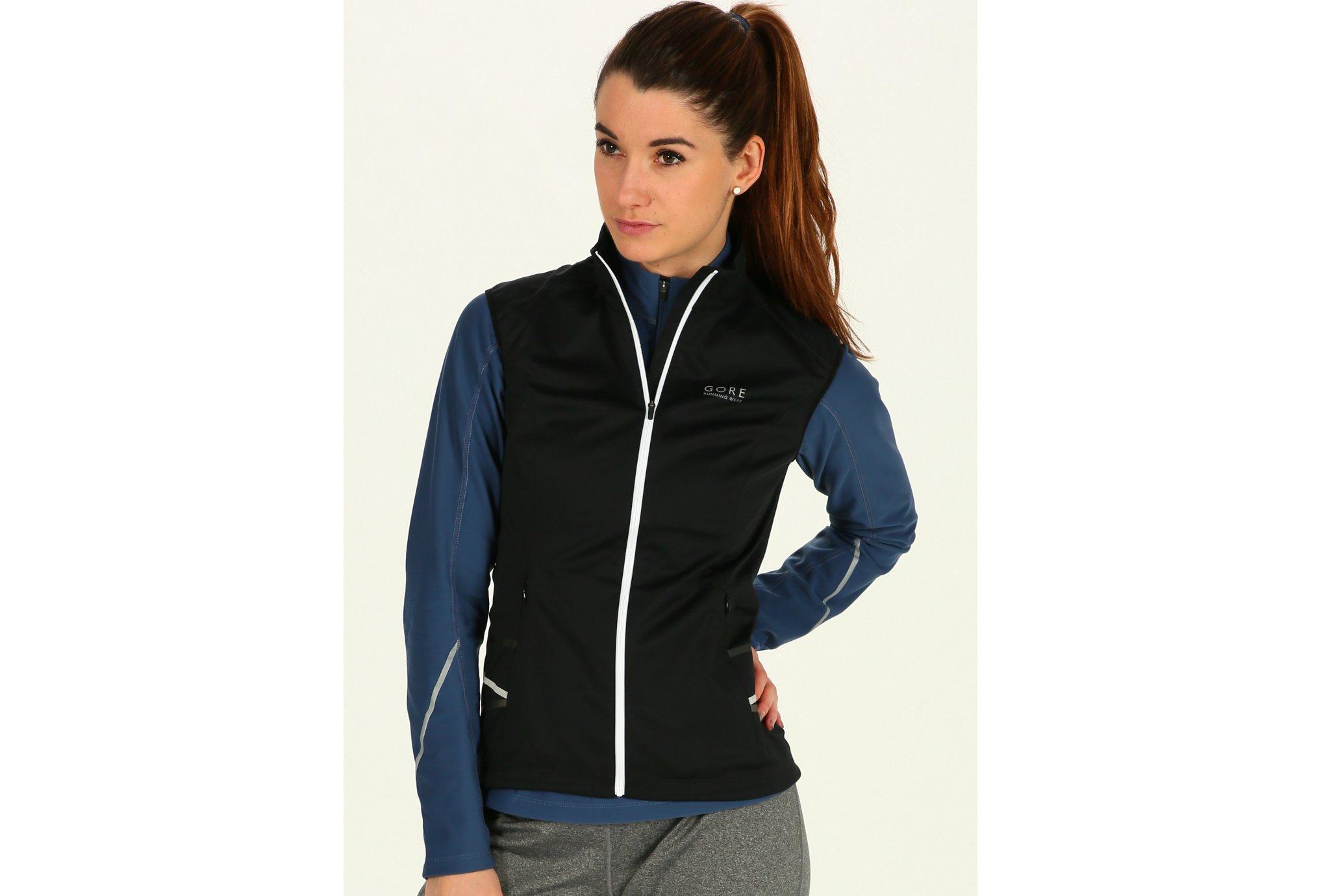 Gore Wear Gilet Mythos 2.0 WindStopper Soft Shell Lady Light W Diététique Vêtements femme