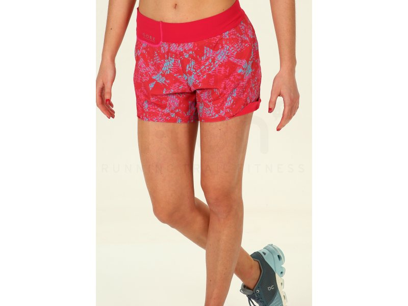 8fc2159a2d64db Gore Wear Short Sunlight Print W - Vêtements femme Shorts / cuissards /  jupes