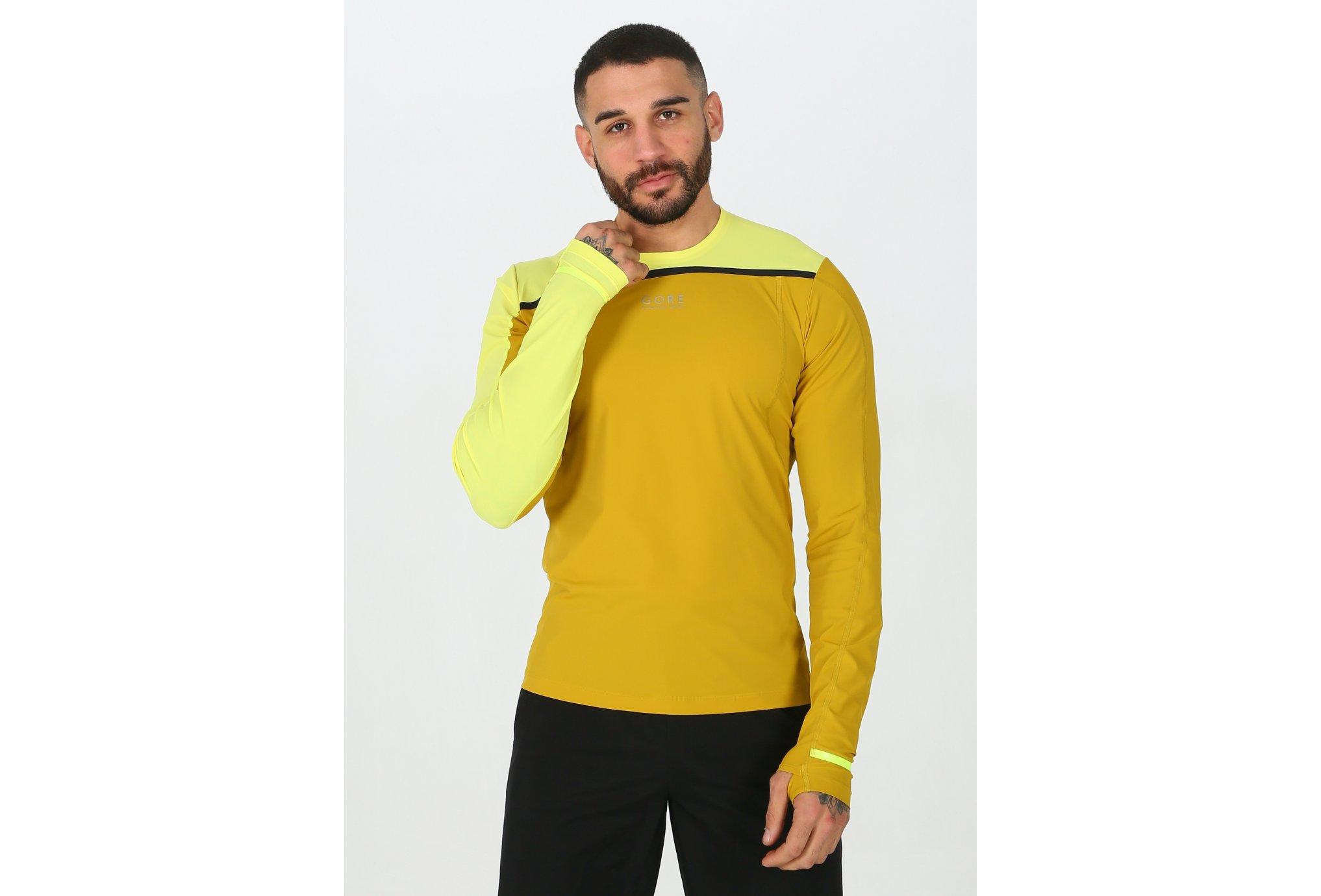 Gore Wear Tee-Shirt Fusion M Diététique Vêtements homme