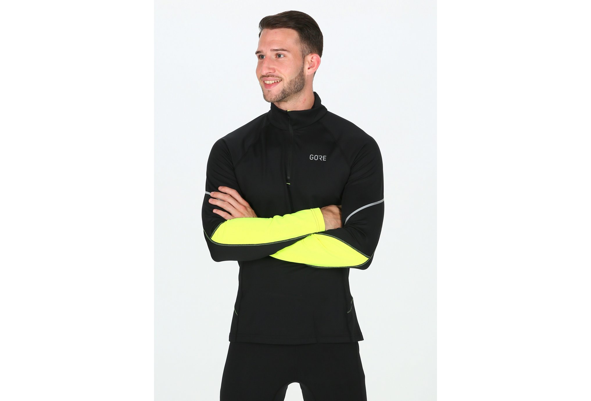 Gore Wear Thermo Long Sleeve M vêtement running homme