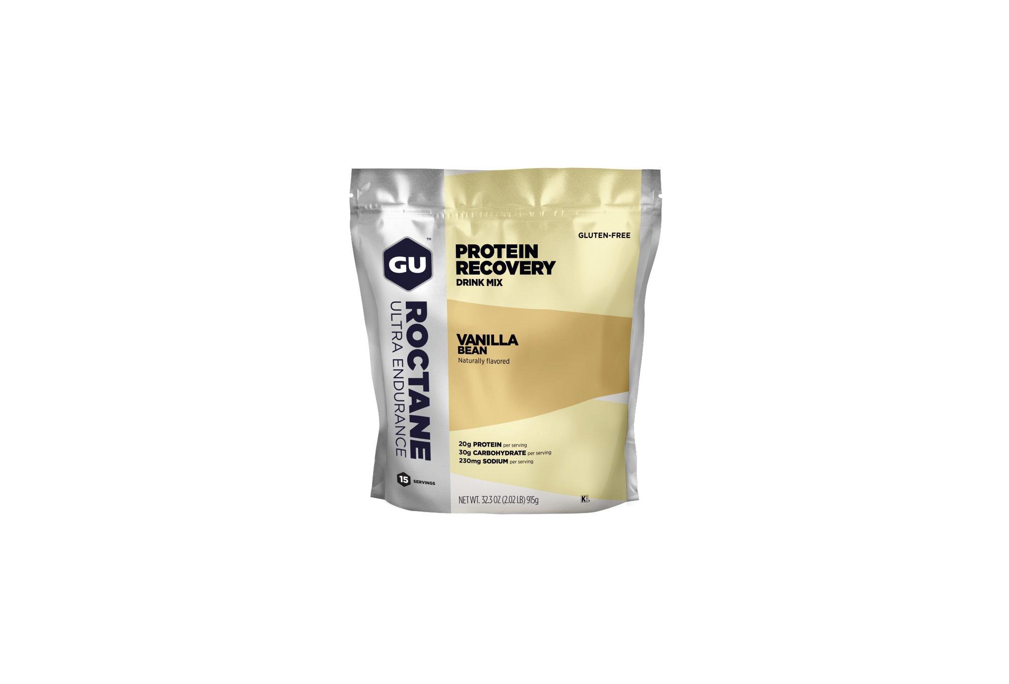 GU Boisson Roctane Protein Recovery Drink Mix - Vanille Diététique Boissons