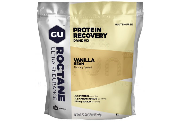 GU Boisson Roctane Protein Recovery Drink Mix - Vanille