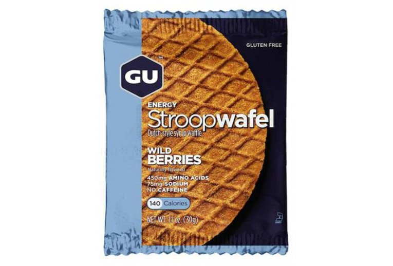 GU Gaufres Stroopwafel - Baies Sauvages Sans caféine