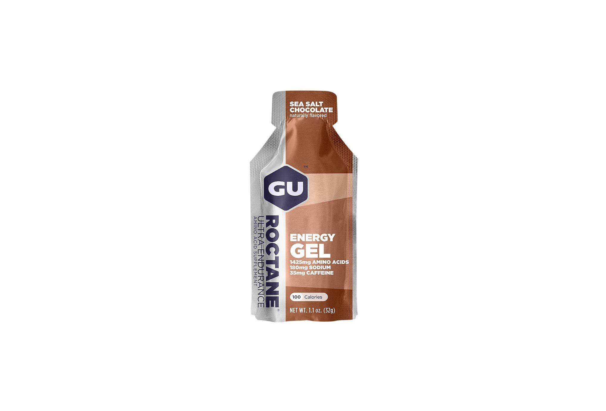 GU Gel Roctane Ultra Endurance Chocolat Sel de mer Diététique Gels