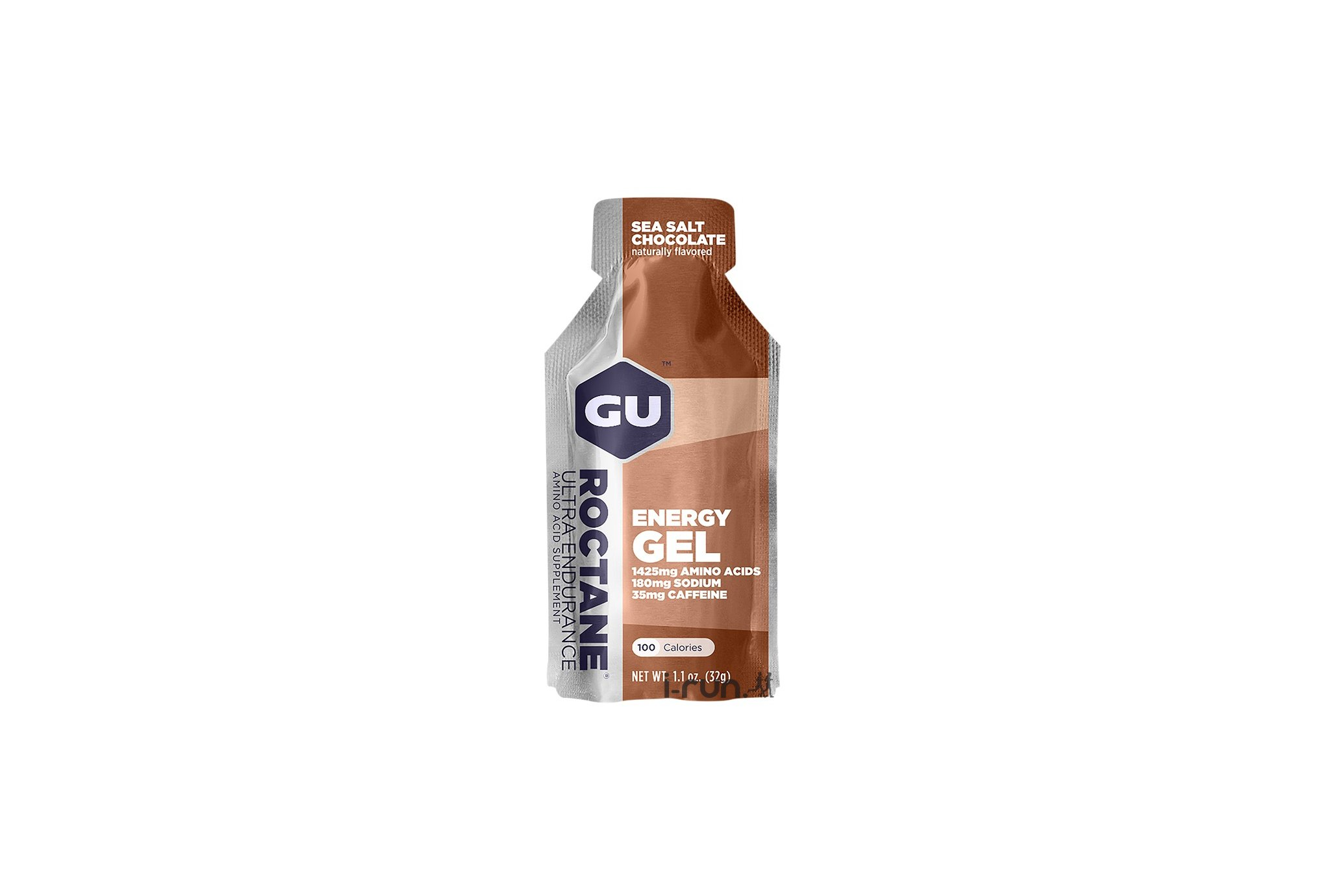 GU Gel Roctane Ultra Resistencia - Chocolate/Sal marina Diététique Gels