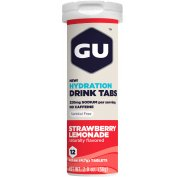 GU Tablettes Hydratation Drink - Fraise/Limonade
