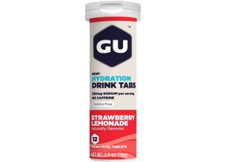 GU Tabletas Hidratantes Drink - Fresa/Limonada