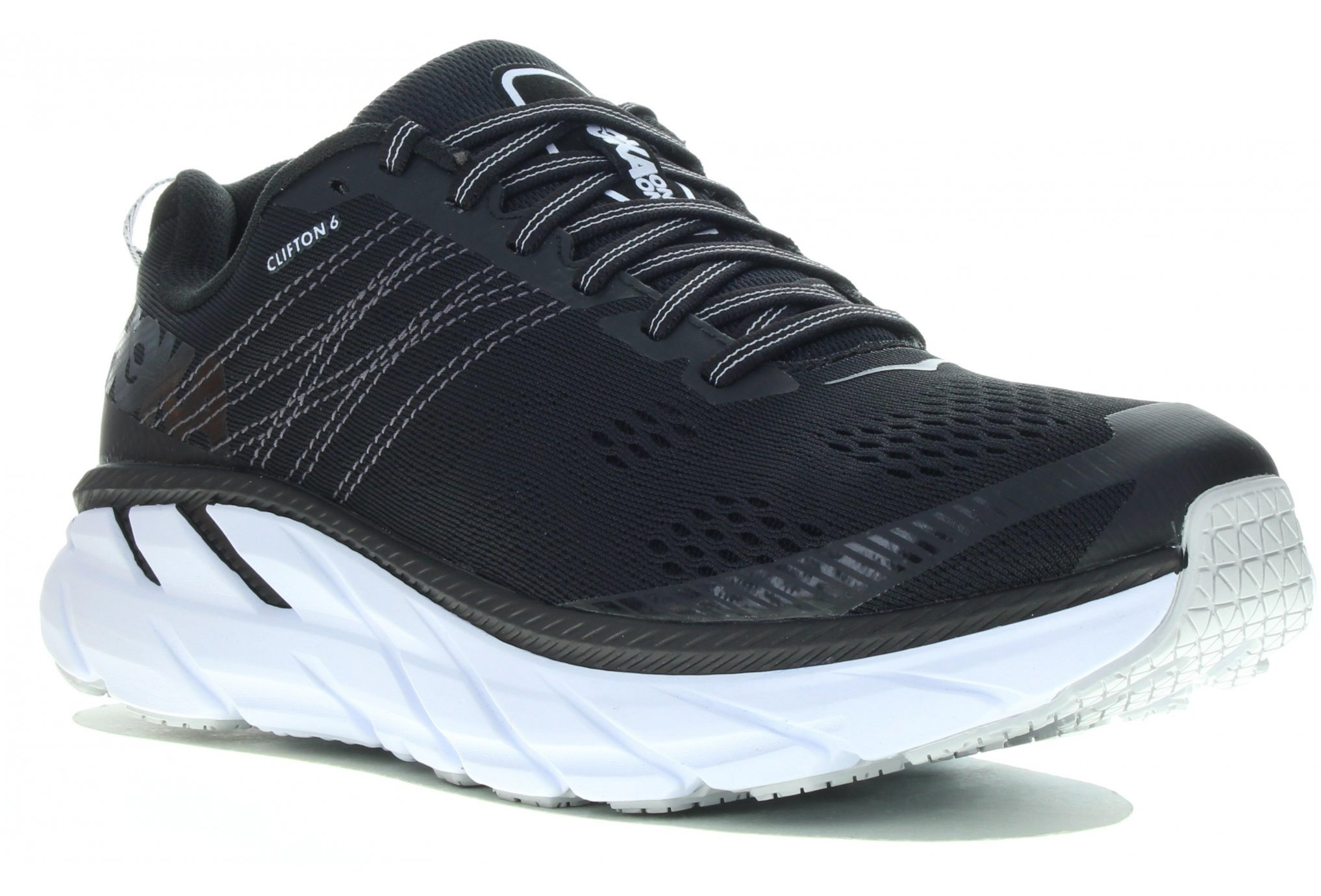 Hoka One One Clifton 6 Wide Chaussures running femme