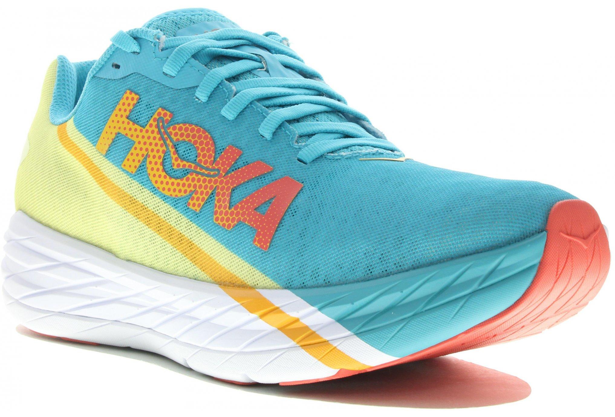 Hoka One One Rocket X Glitch Pack W Chaussures running femme