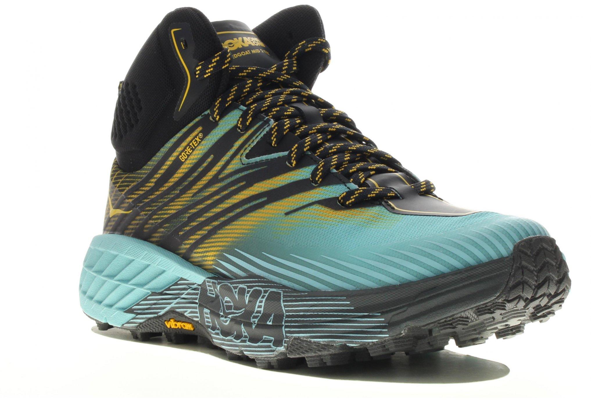 Hoka One One SpeedGoat Mid 2 Gore-Tex Chaussures running femme