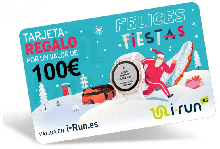 i-run.es Carte Cadeau 100 Spéciale Noël