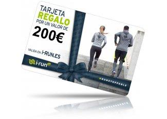 i-run.es Tarjeta Regalo 200