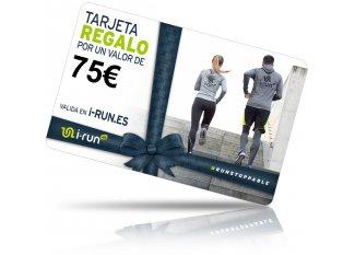 i-run.es tarjeta Regalo 75