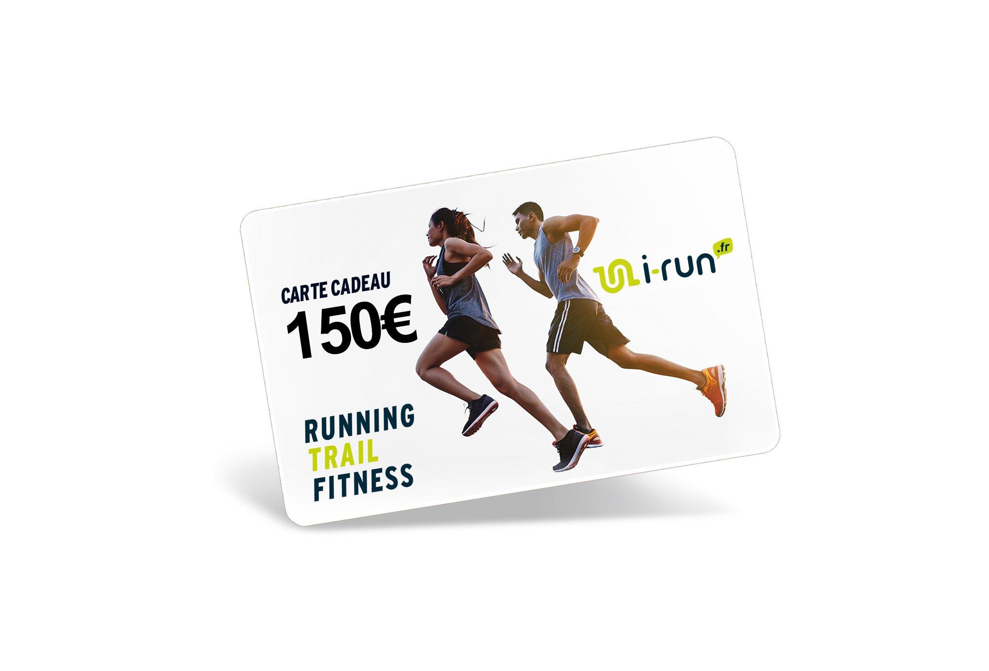i-run.fr Carte Cadeau 150 Cartes Cadeau