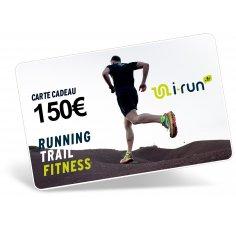 i-run.fr Carte Cadeau 150 M