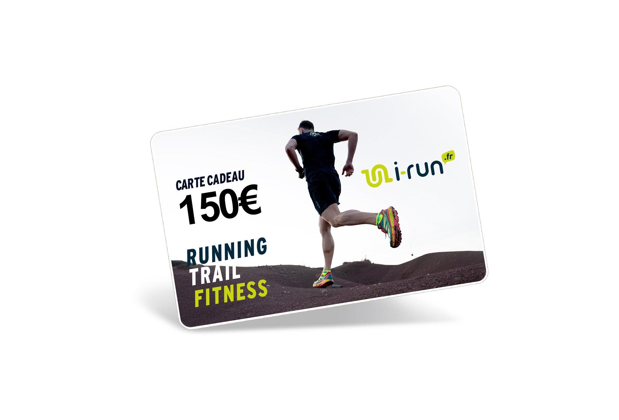 i-run.fr Carte Cadeau 150 M Cartes Cadeau