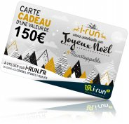 i-run.fr Carte Cadeau 150 Spéciale Noël