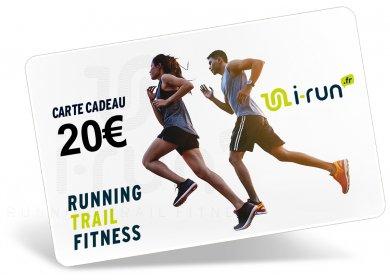 i-run.fr Carte Cadeau 20