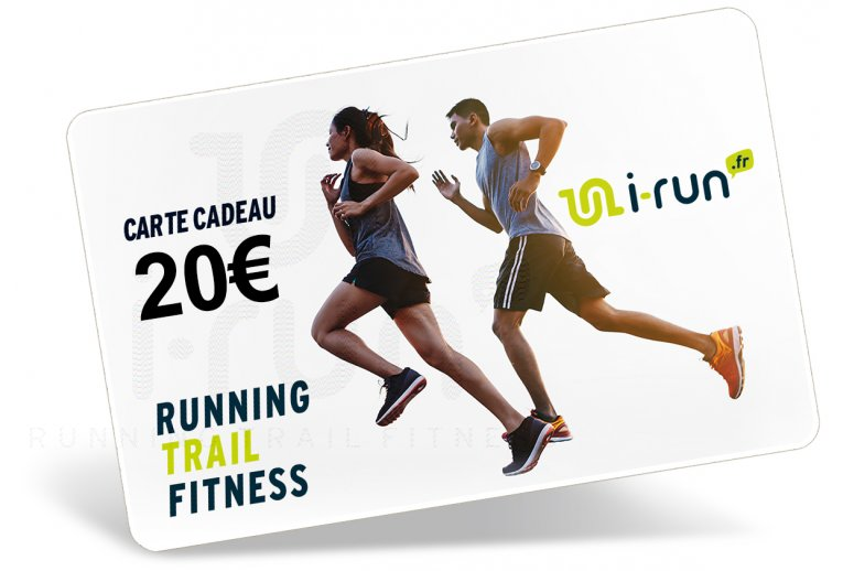 i-run.fr Carte Cadeau 20