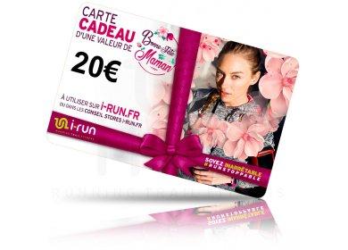 i-run.fr Carte Cadeau 20 Fête des Mères