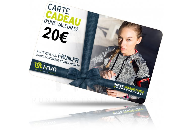 i-run.fr Carte Cadeau 20 W