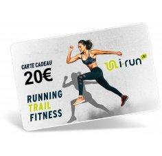 i-run.fr Carte Cadeau 20 W