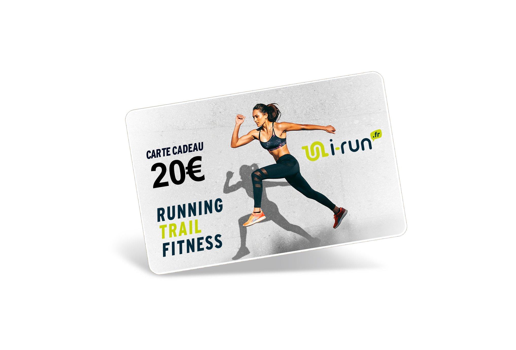 i-run.fr Carte Cadeau 20 W Cartes Cadeau