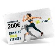 i-run.fr Carte Cadeau 200 W